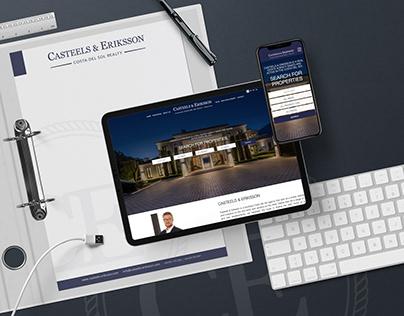 CASTEELS & ERIKSSON – WEB DESIGN + CRM INTEGRATION
