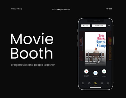 Movie Booth — Mobile App UX/UI