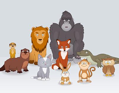 Sumdog Character Design & Animation