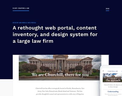 UX UI Web Portal