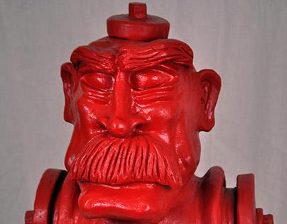 Fire Hydrant Man