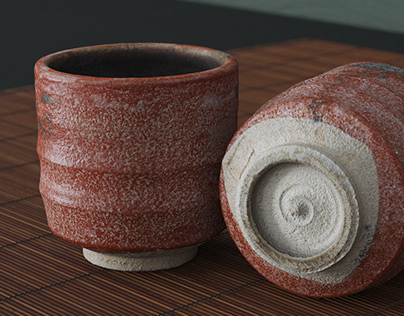 Japanese Tea Cup - Photogrammetry 3D-Scan