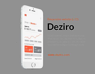 Webpage - DEZIRO.COM