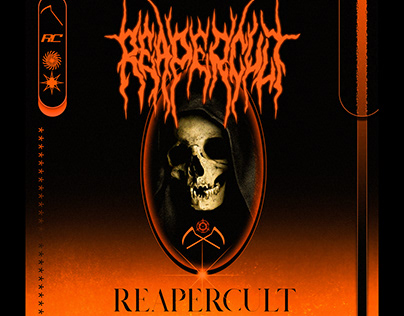 """Logotype and Cover Layout for """"Reapercult"""""""