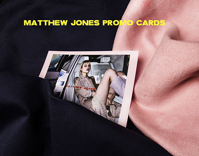 MATTHEW JONES PROMO CARDS