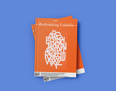 Rethinking Lubalin - Book Layout