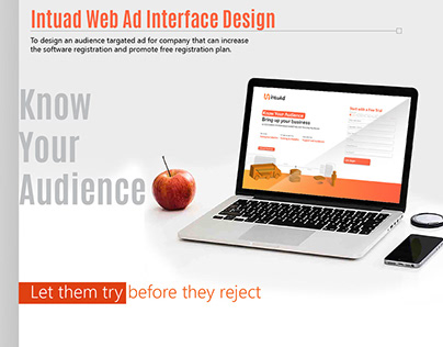 Intu ad Web ad Interface Design