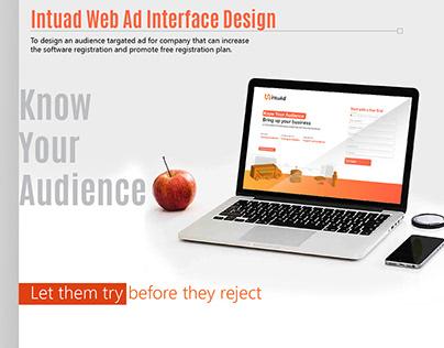 Intu ad Web ad Interface Design