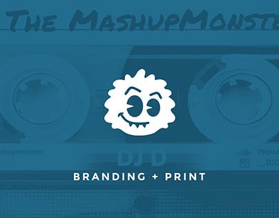 DJ D: Branding + Print