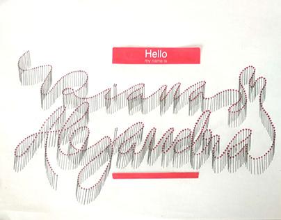 IDG - HELLO MY NAME IS - SEMESTRE 1