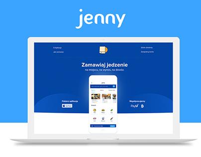 Jenny - Food App & Web.
