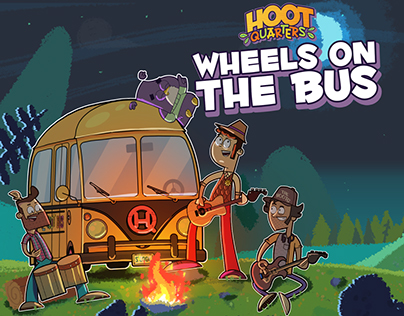 HOOTQUARTERS: wheels on the bus