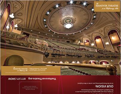 The Hanover Theatre- Folder Re-design