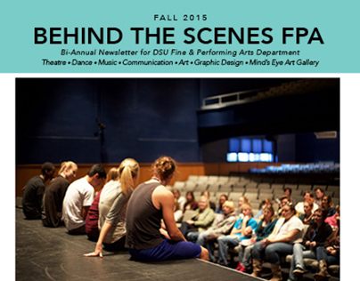 DSU Fine & Performing Arts Dept Newsletter