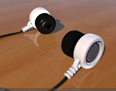 Earbud side view