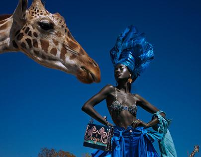"""Regina Castillo """"Africa"""" Campaign"""