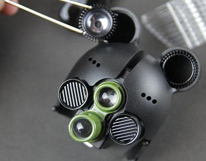 Assault Black Bear Robot