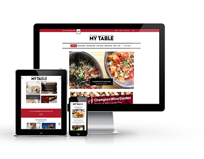Web - Custom Food Magazine Theme & Subscriptions