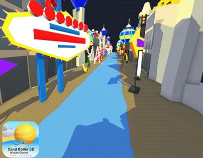 Sand Roller 3D - Las Vegas Environment