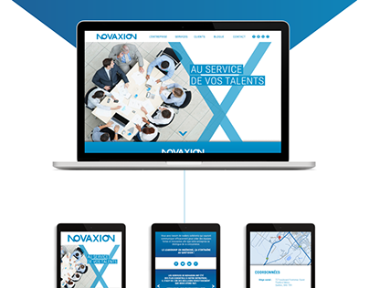Novaxion Branding