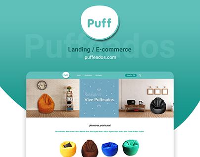 Landing /E-commerce Puffeados