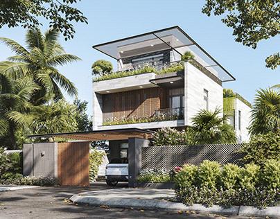 Tien's Villa _ Sketchup Vray 5.1