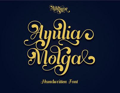 Free Font Ayulia Molga Handwritten Font