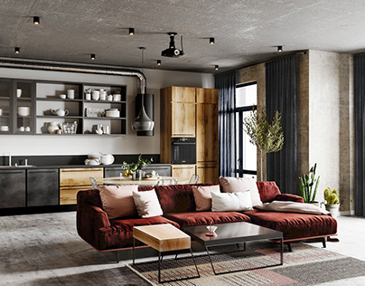 Apartment in Minsk for young family