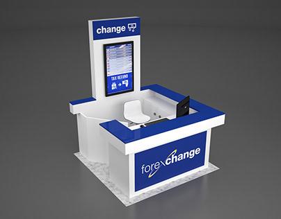Stand ForExchange - Aeroporto di Napoli