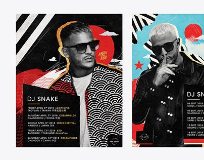 DJ Snake - Tour Poster