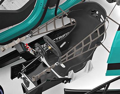 Jaguar I-PACE eTROPHY Championship car