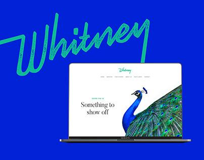 Whitney PR Brand Identity & Website