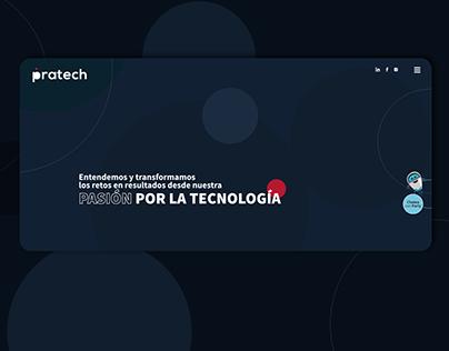 Sitio Web Pratech Group