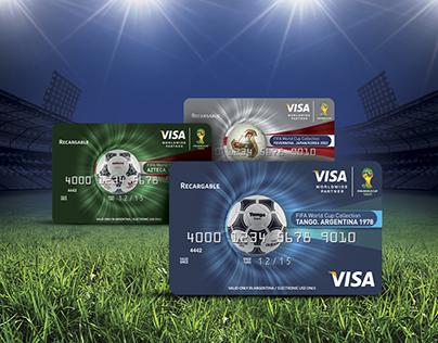Visa. Copa Mundial de la FIFA Brasil 2014™