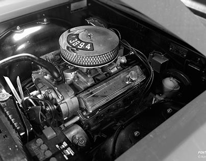 PONTIAC GTO V8 389-4 ENGINE