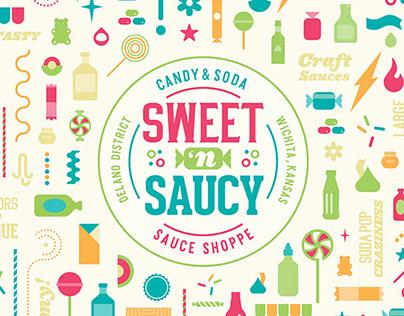 Sweet 'N Saucy Branding