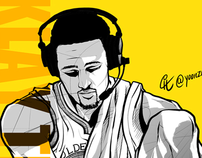 NBA players Golden State Warriors Klay Thompson