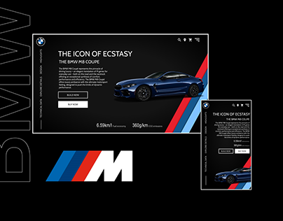 BMW Website for Cars supporting sports mode