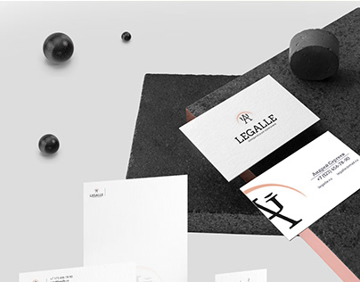 Corporate identity of a law firm