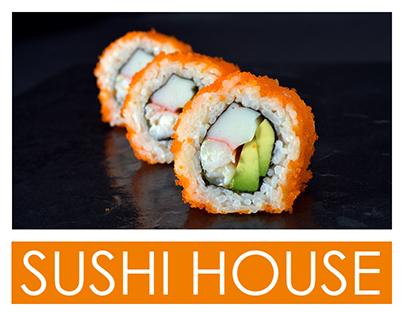 Sushi House - Menukaart & Mailing