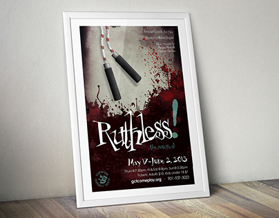 Ruthless! Poster Design