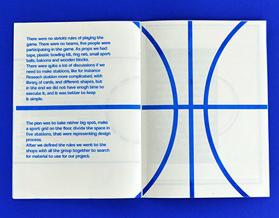 Booklet with sport grids
