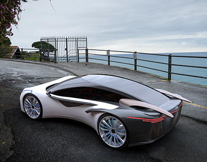 "my concept car ""BARS B1"""