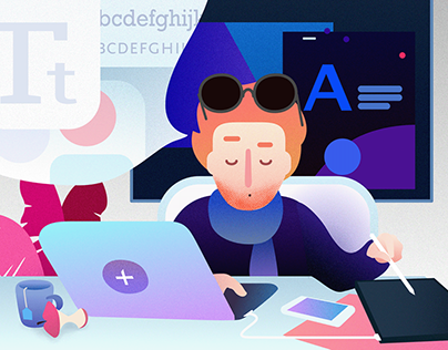 Job Ad illustrations