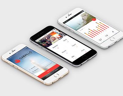 Caballo Technologies App Design Concept