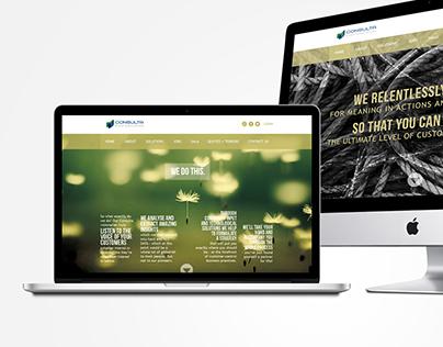 Consulta Website Design (Proposal)