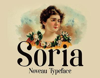 Soria- Free noveau font