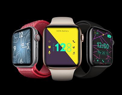 UI design of Apple Watch faces