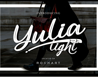 Yulia Light Font Script