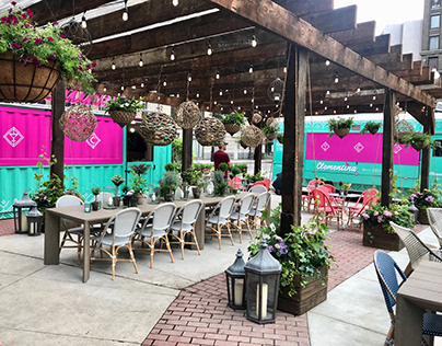 Clementina Detroit Food Truck + Shipping Container Bar